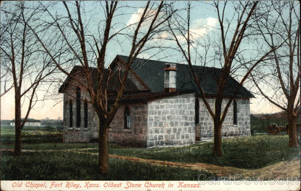 Old Chapel Fort Riley Kansas