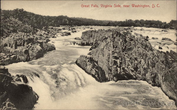 Great Falls, Virginia Side Washington District of Columbia