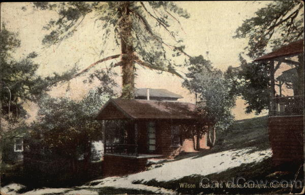 Wilson Peak, Mt. Wilson Cottages California