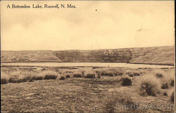 A Bottomless Lake Roswell New Mexico