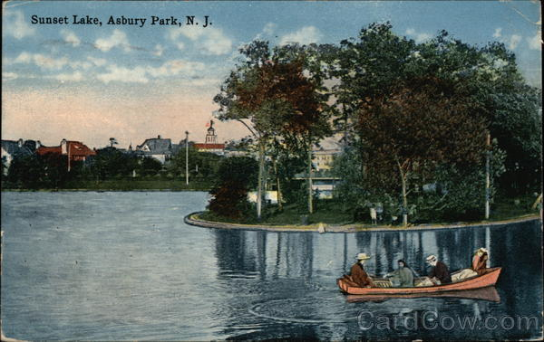 Sunset Lake Asbury Park New Jersey