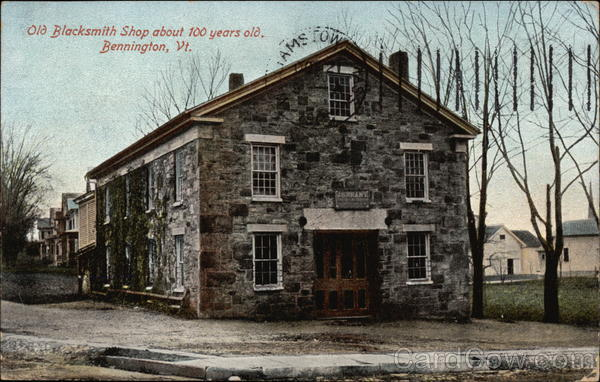 Old Blacksmith Shop - about 100 years old Bennington Vermont