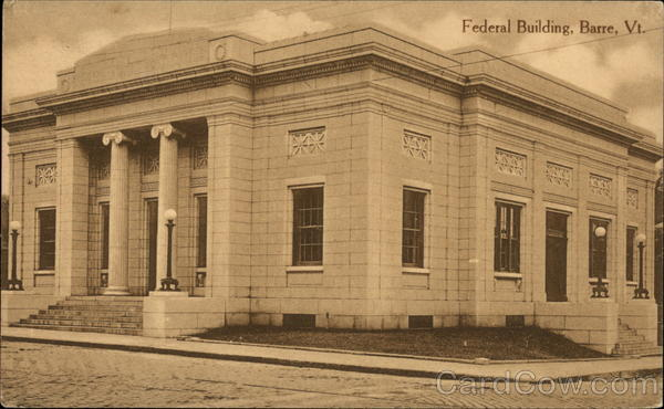 Federal Building Barre Vermont