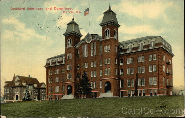 Goddard Seminary and Dormitory Barre Vermont