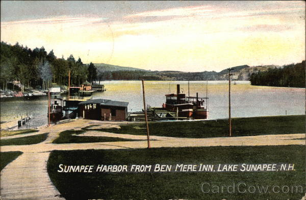 Sunapee Harbor from Ben Mere Inn Lake Sunapee New Hampshire