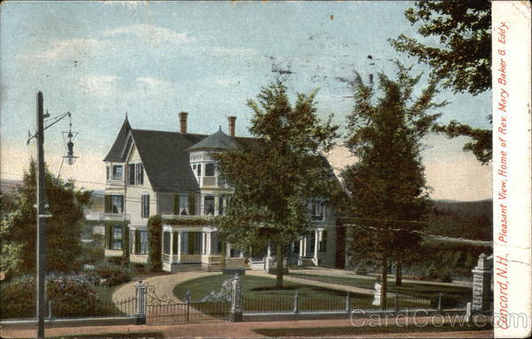 Pleasant View, Home of Mary Baker G. Eddy Concord New Hampshire