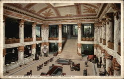 Lobby and Grand Staircase, Jefferson Hotel