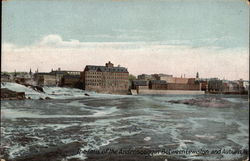 The Falls of the Androscoggin between Lewiston and