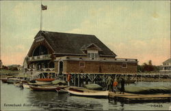 Kennebunk River and Boat House