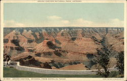 Grand Canyon, Arizona, From Hotel El Tovar