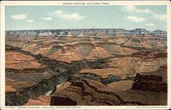 Grand Canyon, Arizona, from Hopi Point
