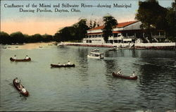 Confluence of Miami and Stillwater Rivers and Municipal Dancing Pavilion