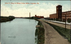 John P. King & Sibley Cotton Mills