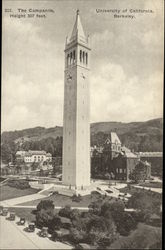 The Campanile, Height 307 feet - University of California
