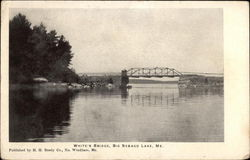 White's Bridge, Big Sebago Lake