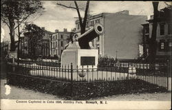 Cannon Captured in Cuba 1898, Military Park