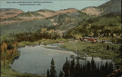 Silver Lake and Brighton Hotel, Big Cottonwood Canyon