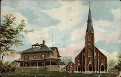 St. Mary's Catholic Church and Parsonage