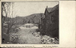 the Old Mill and Dam Postcard