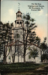 The Old First Congregational Church - Erected 1806