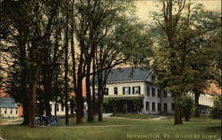 Soldiers' Home in Bennington, Vermont