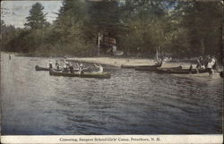 Canoeing, Sargent School Girls' Camp