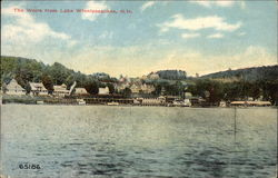 The Weirs from Lake Winnipesaukee