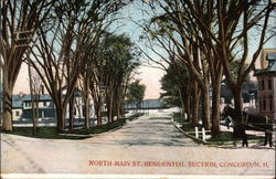 North Main St. Residential Section