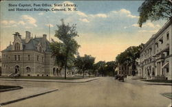 State Capitoll, Post Office, State Library, & Historical Buildings