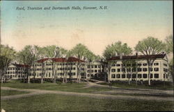 Reed, Thornton, and Dartmouth Halls