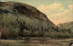 Mt. Cannon and Eagle Cliff, Franconia Notch