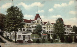 Hotel Weirs, Lake Winnepesaukee Postcard