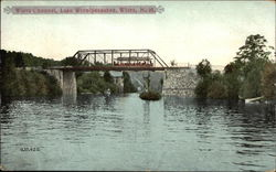 Wiery Channel, Lake Winnipesaukee Postcard
