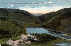 Bird's Eye View, the Balsams, Lake Gloriette and Dixville Notch