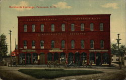 Merchants Exchange Postcard