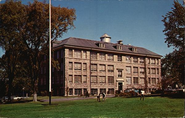 Bliss Hall, Home of the University of Rhode Island's College of Engineering Kingston