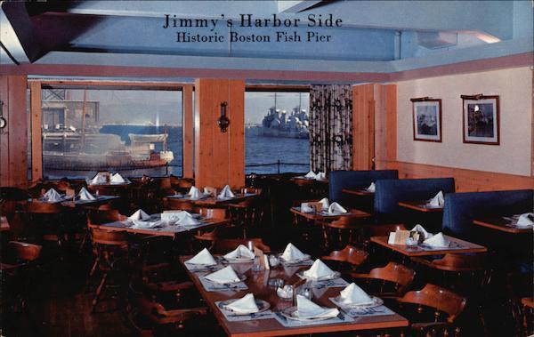 Jimmy S Harbor Side Historic Boston Fish Pier Massachusetts