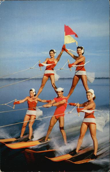 A Thrilling Water Skiing Spectacle Cypress Gardens Florida