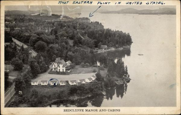 Redclyffe Manor and Cabins Robbinston Maine