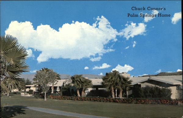 Chuck Conner's Desert Home Palm Springs California