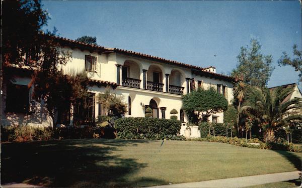 Home Of Van Johnson Beverly Hills Ca