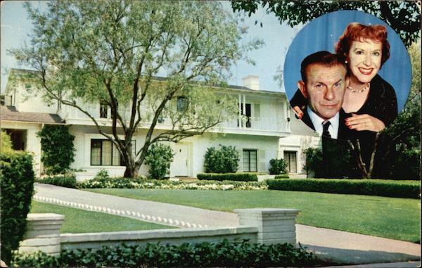 Residence of George Burns and Gracie Allen Beverly HIlls California