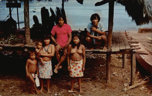 Choco Indians of Darien Interior of Panama