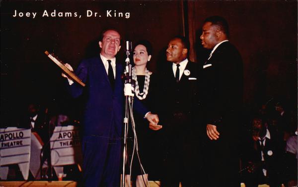 Joey Adams, Dr. Martin Luther King Political