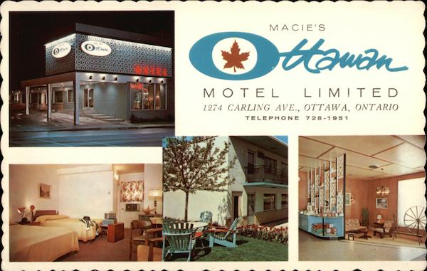 Macie's Ottawan Hotel, On Carling at the Queensway Canada