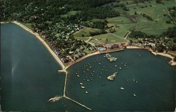 View of Pine Orchard and Yacht Club Branford Connecticut