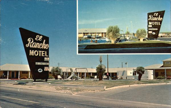 El Rancho Motel Fort Stockton Tx
