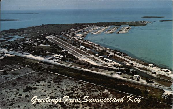 Greetings from Summerland Key Florida