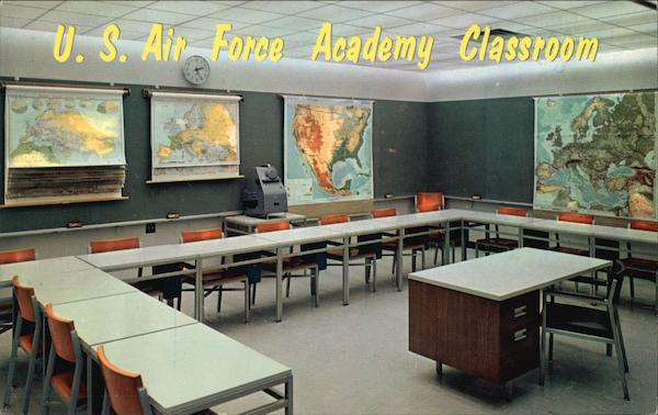 U. S. Air Force Academy Classroom