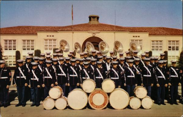 San Diego Marine Corps Recruit Depot Band California